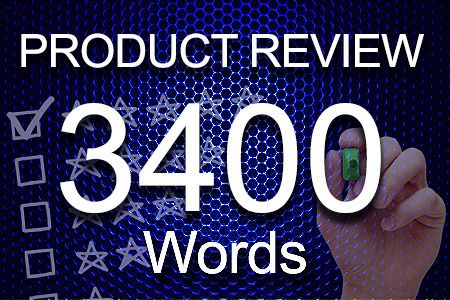 Product Review 3400 words