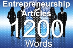 Entrepreneurship 1200 words