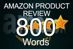 Amazon Review 800 words