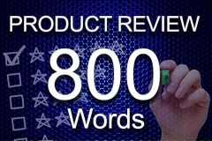 Product Review 800 words
